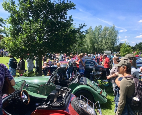 British Weekend auf dem Rittergut Remeringhausen